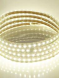 15m 220v higt lumineux led strip éclairage flexible 5050 900smd trois cristal lumières barre de lumière imperméable à l'eau de jardin avec
