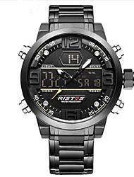 Муж. Детские Спортивные часы Армейские часы электронные часы Японский Кварцевый LED Календарь Секундомер Защита от влаги тревога