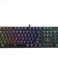 шоколадная клавиатура Keycap 104 с подсветкой клавиш для всех игровых механических клавишных клавиш с клавишей