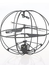 Dron 286 3 Canales 6 Ejes Hacia adelante hacia atrás Modo De Control Directo Flotar Quadcopter RC Mando A Distancia Cable USB 1 Batería
