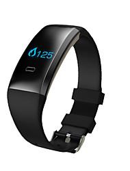 Smart-Armband iOS Android iPhone Wasserdicht Long Standby Schrittzähler Gesundheit Sport Herzschlagmonitor Wecker Kreativ Licht und
