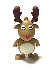8gb christmas usb flash drive cartoon natal cervo natal presente usb 2.0