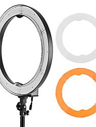 andoer rl-680s 18.9 / 48cm 55w dimmable 5500k макрос водить видео кольцо лампа 240pcs шарики ж / белый оранжевый фильтр 175cm / 5.7ft
