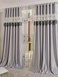Ventana Tratamiento Moderno , Bordado Sala de estar Material cortinas cortinas Decoración hogareña For Ventana