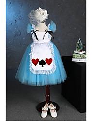 принцесса чай длина цветок девушка платье - тюль с коротким рукавом квадратная шея с цветком от abn