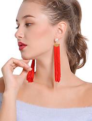 Women's Drop Earrings Hoop Earrings Imitation Pearl Sexy Bohemian Imitation Pearl Alloy Line Jewelry For Party Daily