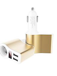 Быстрая зарядка Светодиодный дисплей Несколько портов 2 USB порта Только зарядное устройство DC 5V/3.1A