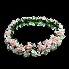 Women's Paper Headpiece-Wedding / Special Occasion / Outdoor Flowers