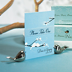 Chrome Place Card Holders 4 Gift Box