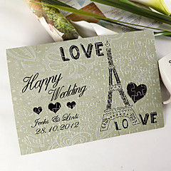 Personalized Jigsaw Puzzle - Love Eiffel Tower