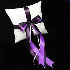 Подушка для обручальных колец, с двойной лентой
