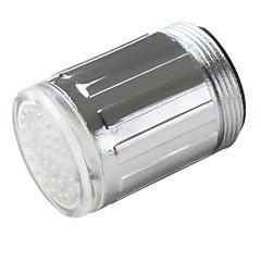 Stílusos vízzel működő konyhai LED csaptelep fény (műanyag, krómozott)