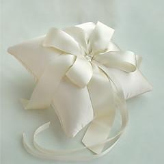 travesseiro elegante anel de marfim