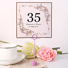 Pearl Paper Table Number Cards 10 Poly Bag