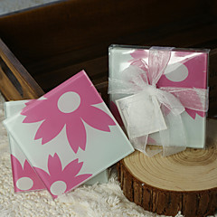 Blossom Glass Coasters (set of 2)