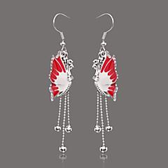 Unique Silver Alloy Rhinestone Drop Earrings(More Colors)