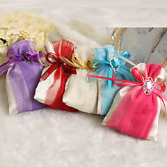 12 Piece/Set Favor Holder Satin Favor Bags Non-personalised