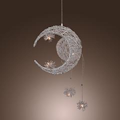LED Max 3w*5 Hedendaags / Globe Ministijl Galvanisch verzilveren Metaal Plafond Lichten & hangers Woonkamer / Eetkamer / Keuken
