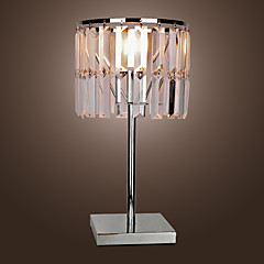 moderne krystal tabel lys i et enkelt udformet stil