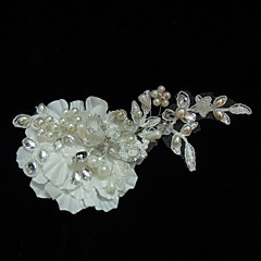 Women's Satin / Lace / Rhinestone / Imitation Pearl Headpiece-Wedding / Special Occasion / Casual Fascinators / Flowers