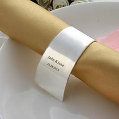 osobní slitiny prsten ubrousku (více barev)
