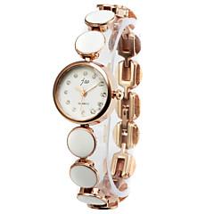 Elegant Alloy Ronde Quartz Dames horloge