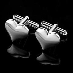 Gift Groomsman Heart Design Cufflinks
