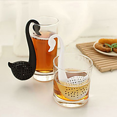 Schwan geformt Teelöffel Teesieb (gelegentliche Farbe)
