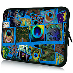 "Blå Patterns Nylon Materiale Vanntett Sleeve Case for 11 ""/ 13"" / 15 ""Bærbar PC & Tablet"