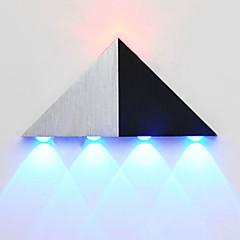 Süllyesztett fali lámpák-LED / Izzót tartalmaz-Modern/kortárs-Fém