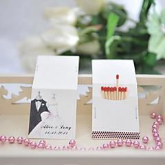 Čtvrtky Svatební dekorace-25Kusů v sadě Personalizováno Zápalky nejsou součástí balení.