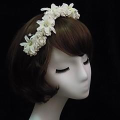 Gorgeous Satin/Paper With Flower/Rhinestone Women's Headbands