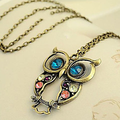 Women's Alloy Necklace Birthday / Gift / Party / Daily / Special Occasion / Causal Rhinestone