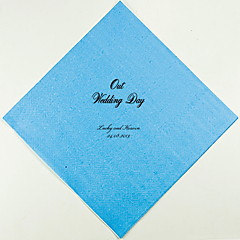 Personalized Wedding Napkins Our Wedding Day(More Colors)-Set of 100