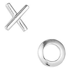 Fashionable Sterling Silver Stud Earrings For Women