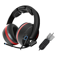 Somic G989 Stereo Gaming USB 5.1 Sound Channel Over-Ear Headphone with Mic and Remote for PC