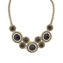 Europæisk stil (Circles) Alloy Akryl Fashion Statement Necklace (More Color) (1 stk)