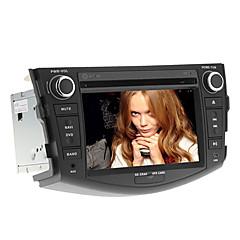 7 polegadas no painel de instrumentos do carro DVD player para rav4 2006-2012 com GPS, BT, RDS, FM, touch-screen