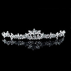 Women's Alloy Headpiece-Wedding / Special Occasion Tiaras As the Picture