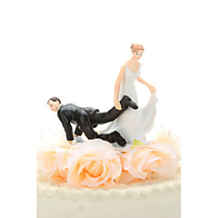 Cake Toppers Dragging The Groom  Cake Topper