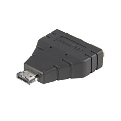 Combo eSATAp Power over eSATA USB 2.0 zu eSATA & USB-Splitter Adapter 1 in 2 neue