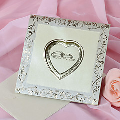Heart Design Wedding Invitation - Set of 50