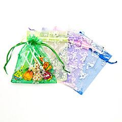 리본과 나비 디자인 부탁 봉투 - 12 세트 (더 색)
