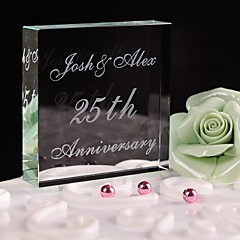 Cake Topper Personalized Crystal Wedding / Anniversary / Bridal Shower / Baby Shower / Quinceañera & Sweet Sixteen / Birthday WhiteFloral