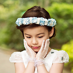 Ženy Malé družičky Satén Papír Přílba-Svatba Zvláštní příležitost Outdoor Květiny