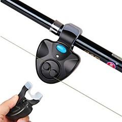 אזעקת דייג חכת דיג עמיד אור LED נייד Alarm לד אוניברסלי משקפיים מתלבשות פונקצית חיסכון באנרגיה חשמלי מופעל באמצעות הקול קל להתקנהדייג
