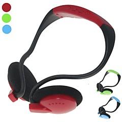 D-219のワイヤレススポーツMP3音楽プレーヤーのヘッドフォンのサポートTFカードFMラジオ(アソートカラー)