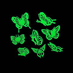 ρομαντικό σπίτι absorptiometric φώτα τη νύχτα αυτοκόλλητα-πεταλούδα