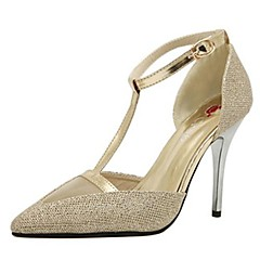 Patent Leather Women's Stiletto Heels Pointed Toe Pumps/Heels Shoes(More Colors)