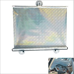 carking מגן ™ צל שמש החלון רולר רכב רכב נסיג עיוור עם כוסות יניקה (40 * 60)